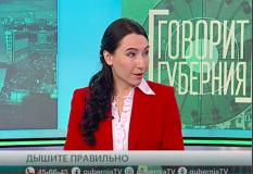 Телепрограмма на Хабаровском ТВ об осознанном дыхании